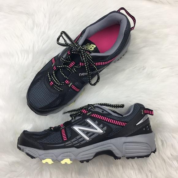 5b6684eae0d61 New Balance Shoes   Black Pink Trail Running 85   Poshmark